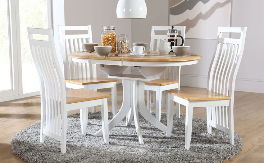 amazing small white dining table and chairs graceful dining table
