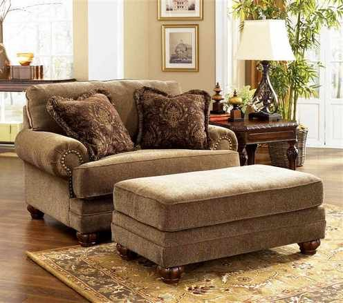 Chair and a half with ottoman ikea   Home Ideas   Oversized chair