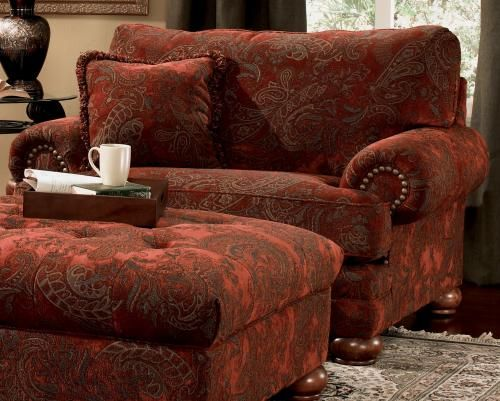 overstuffed chairs and ottomans   For the Home in 2019   Overstuffed