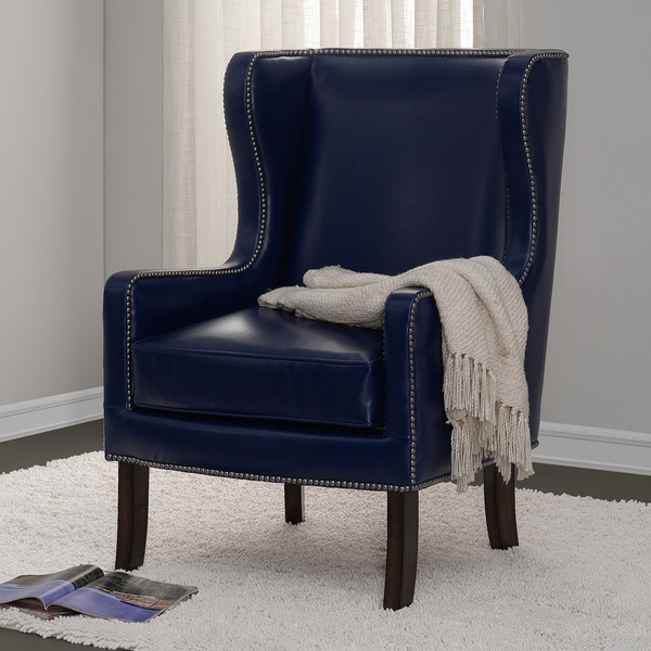 Chair Design Ideas Incredible Blue Wing Chair Gallery Blue Chair And