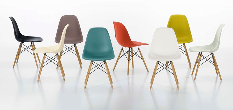 Design Icons: Plastic Chair, by Charles & Ray Eames | Eric Vökel
