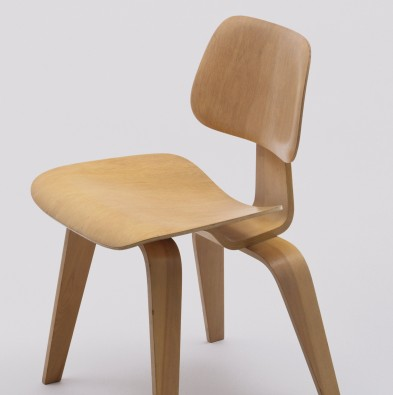 MoMA | Charles Eames and Ray Eames. Side Chair (model DCW). 1946.