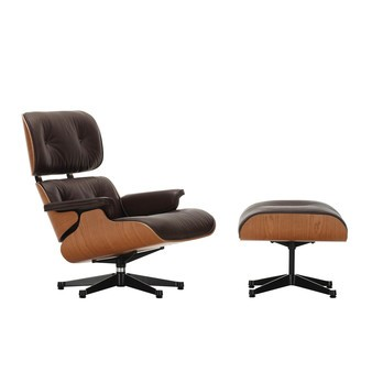 Vitra Eames Lounge Chair & Ottoman | AmbienteDirect