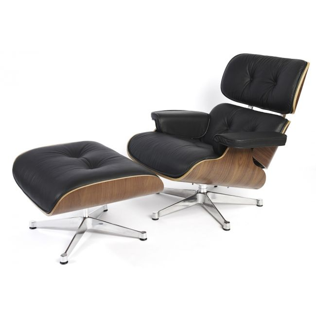 Eames lounge inspired chair and Ottoman - replica | Designs for the