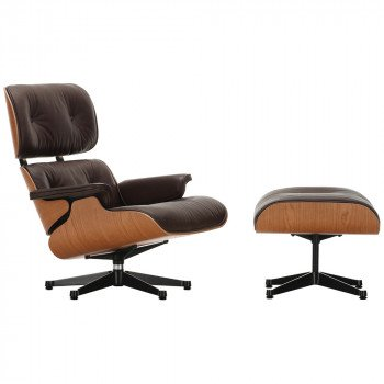 Eames Lounge Chair | Longer Chair and Ottoman by Charles & Ray Eames
