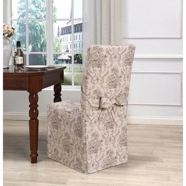 Shop Kathy Ireland Chateau Dining Chair Cover - Free Shipping On