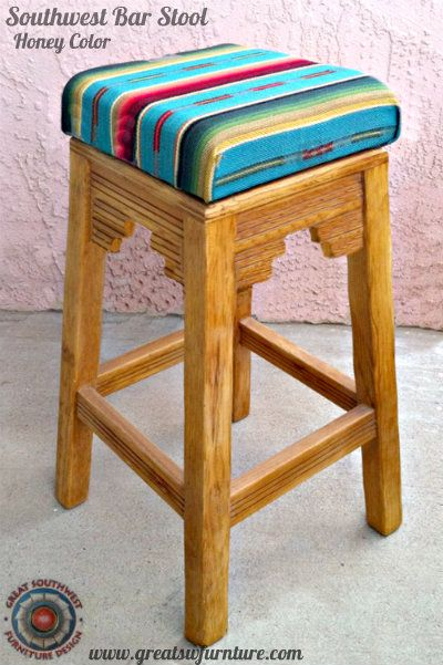 South West Bar Stools   Southwest Bar Stool   home decor in 2019