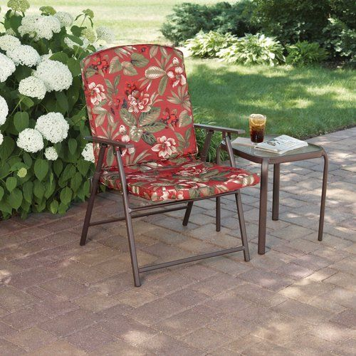 Padded Folding Lawn Chairs   Mobile Home   Lawn chairs, Chair