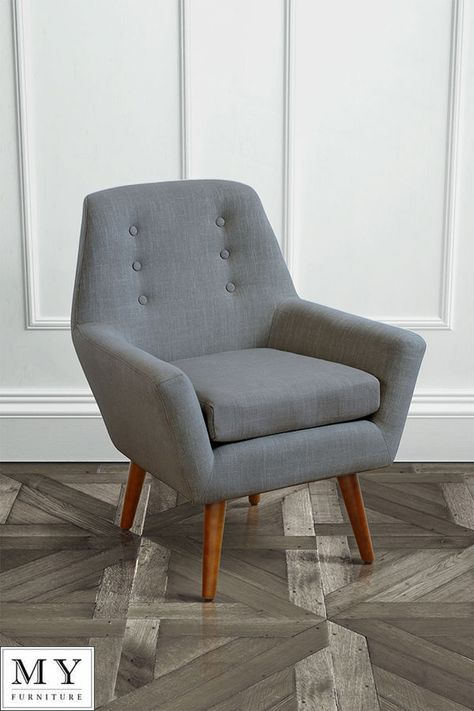 My-Furniture Retro upholstered armchair - VIVIENNE | Bar Area