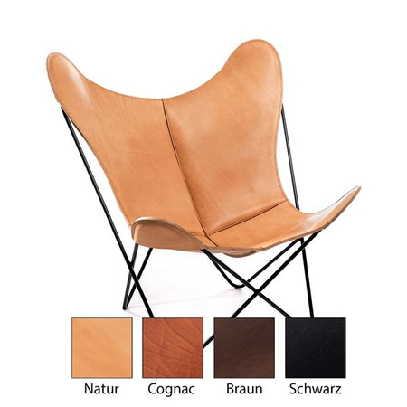 Saddle Leather - The real Original - Hardoy Butterfly Chair