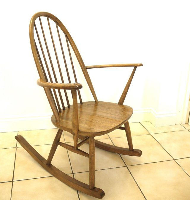 Bloomingville Rattan Rocking Chair in Natural | Easy Chairs