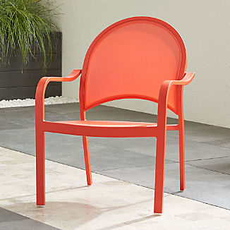 Outdoor Lounge Chairs | Crate and Barrel