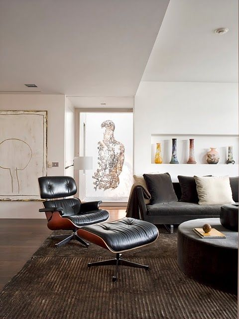 Live for this Eames lounge chair. #interiordesign   Home & Garden
