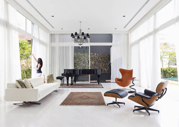 Design Icon Eames Lounge Chair: Interior Ideas, Inspiration and Pictures
