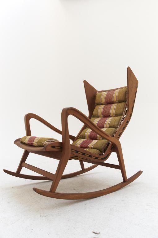 Gio Ponti rocking chair - Produced by Cassina - Italy | rocking