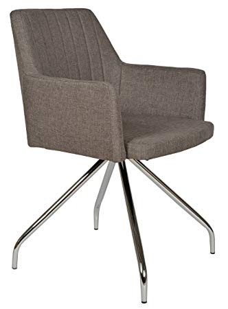 ts-ideen Lounge Design Sessel Barsessel Clubsessel Metall Stoff in