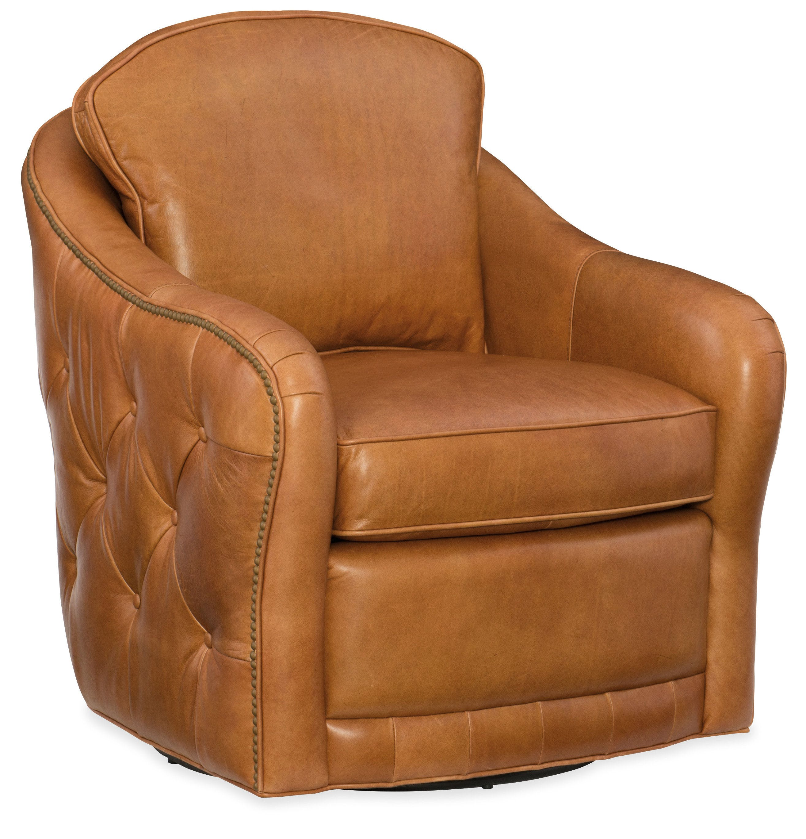 Hooker Furniture Living Room Hilton Swivel Club Chair