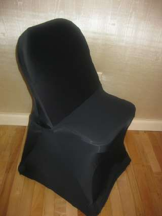 Black spandex folding chair covers! | Chair Covers, caps and sashes