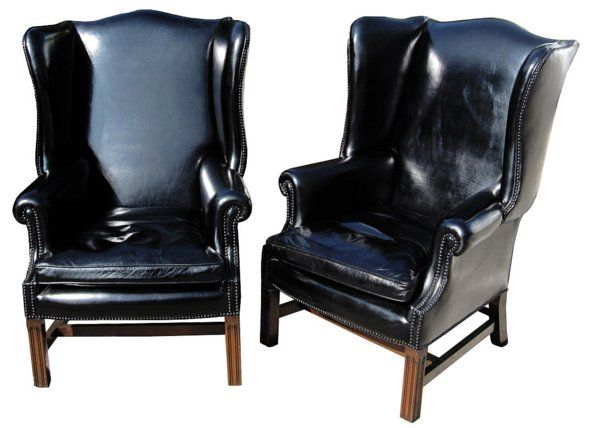 black patent leather chairs | Lovely Little Black Dress! | Leather