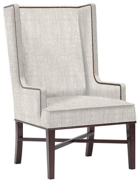 Modern Wingback Dining Chair   Furniture   Dining arm chair