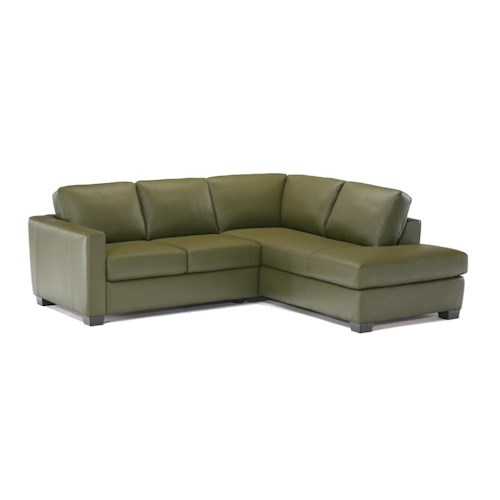 Italsofa I-161 Sectional mit Chaise - Des Moines, Urbandale, West.