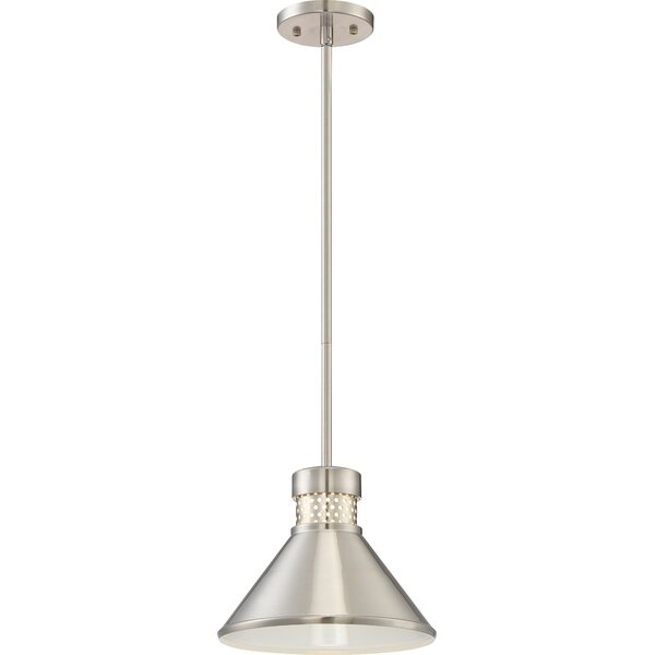 Trent Austin Design Irwin 1-Licht LED Single Cone Anhänger.
