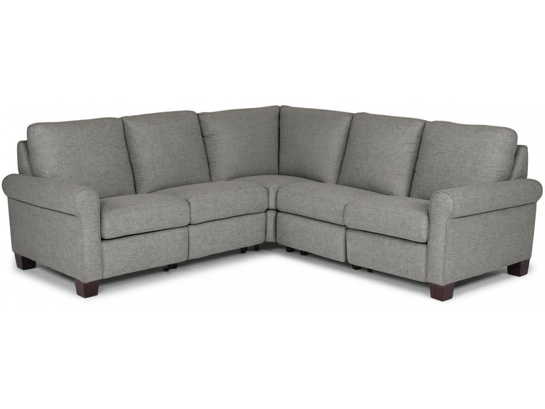 Flexsteel Living Room Power Reclining Sectional 1140-SECTP.