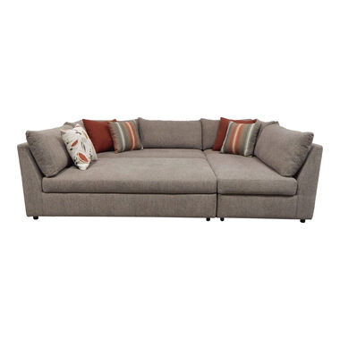 Rent to Own Woodhaven 3-teiliges Puzzle Chaise Schnittsofa bei.