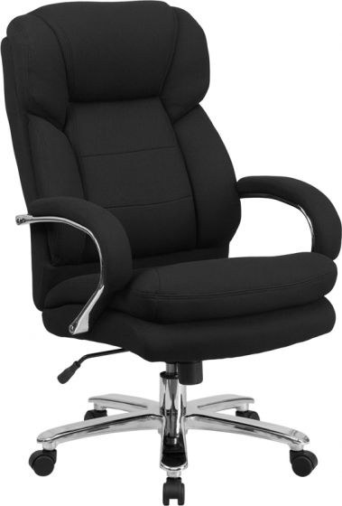 High-Back schwarzer Stoff Executive Swivel Office Cha