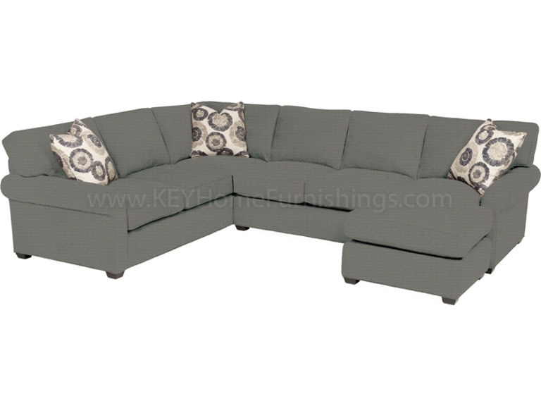 Stanton 225 Sectional - Portland, OR |  Key Home Furnishin