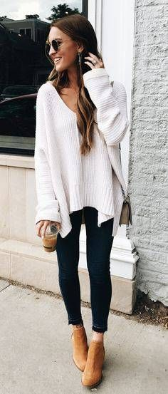 Beste Casual Herbst Outfit Ideen 2019 auf Stylevo