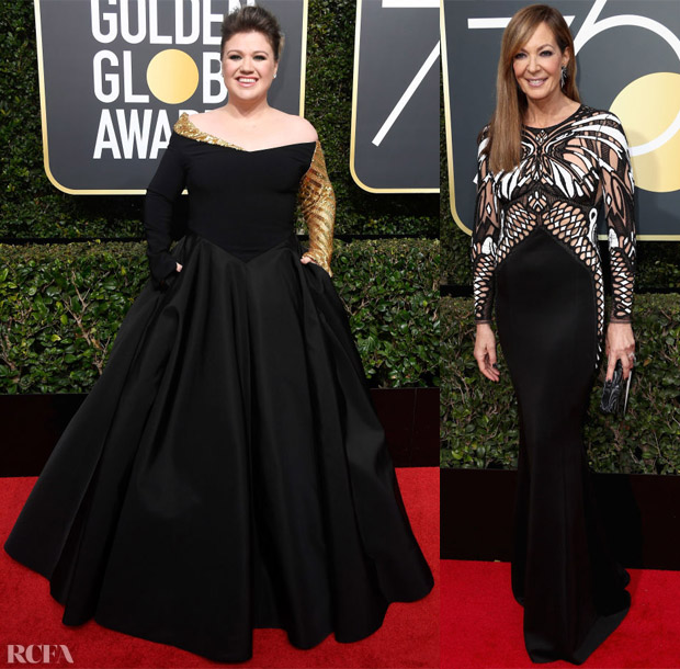 2018 Golden Globe Awards Red Carpet Roundup - Roter Teppich Mode.