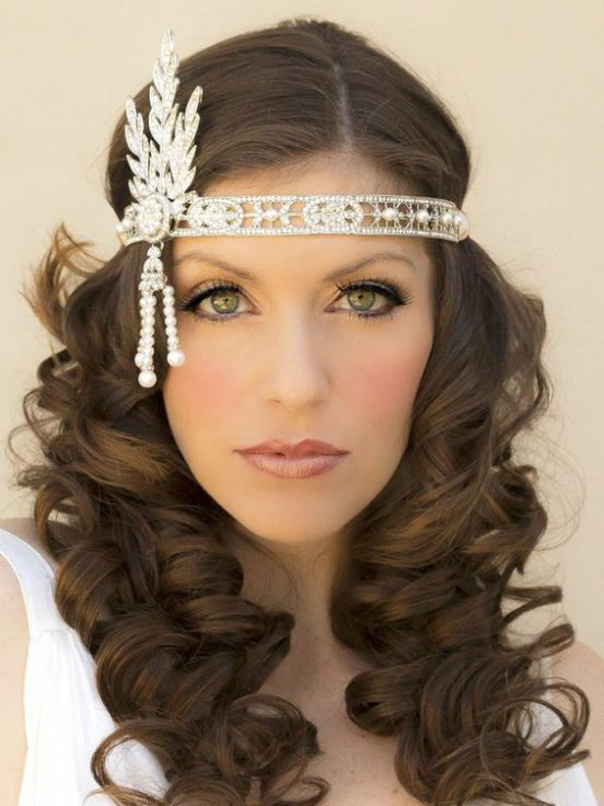 40+ Great Gatsby Inspired Makeup Styles 10 im Jahr 2020 |  Kapsels.