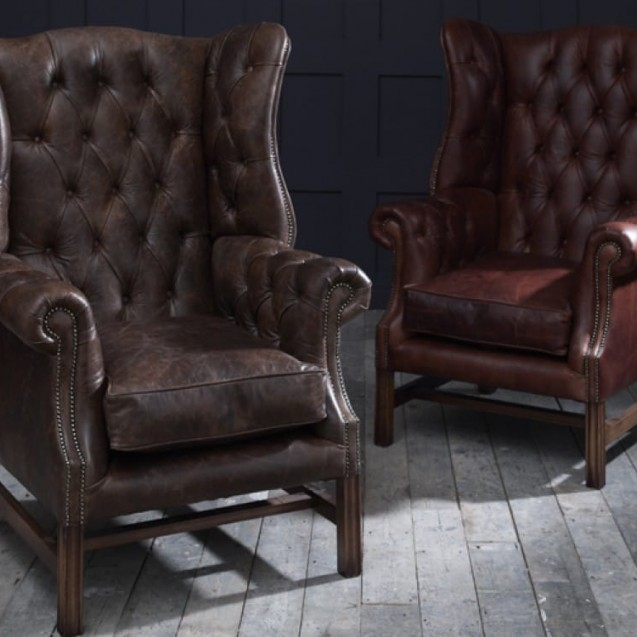 The Chesterfield Co ™: Chesterfield-Ledersofas, Sessel & Mo.