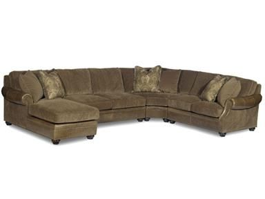 Kaufen Sie Bradington Young Warner Sectional, 220 Sectional und.