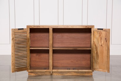 Oil Pale Finish 3-türiges Sideboard |  Lebender Raum