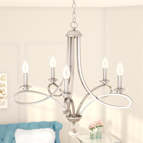 Willa Arlo Interiors Berger 5 - Light Candle Style Classic.