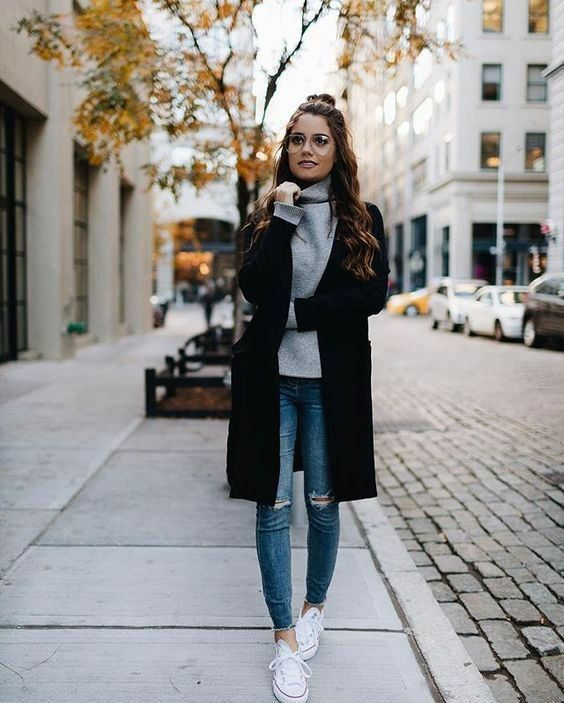 10+ Winter Outfit Ideen |  Herbsttrends Outfits, Casual Herbst Outfits.
