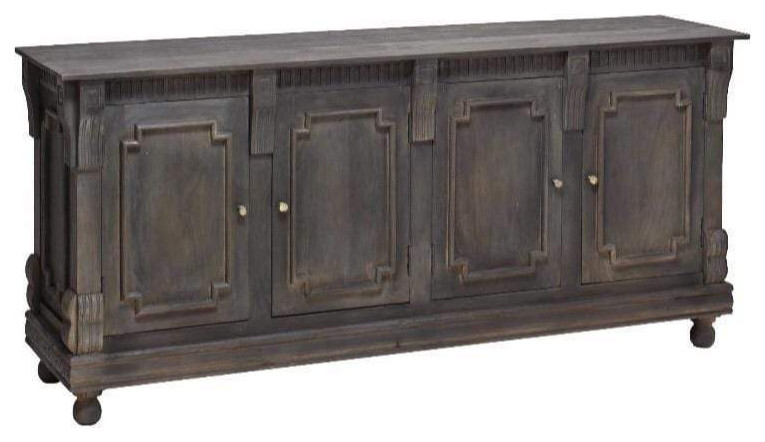 Tobias 4-türiges Sideboard 36x80x20 - traditionell - Buffets und.