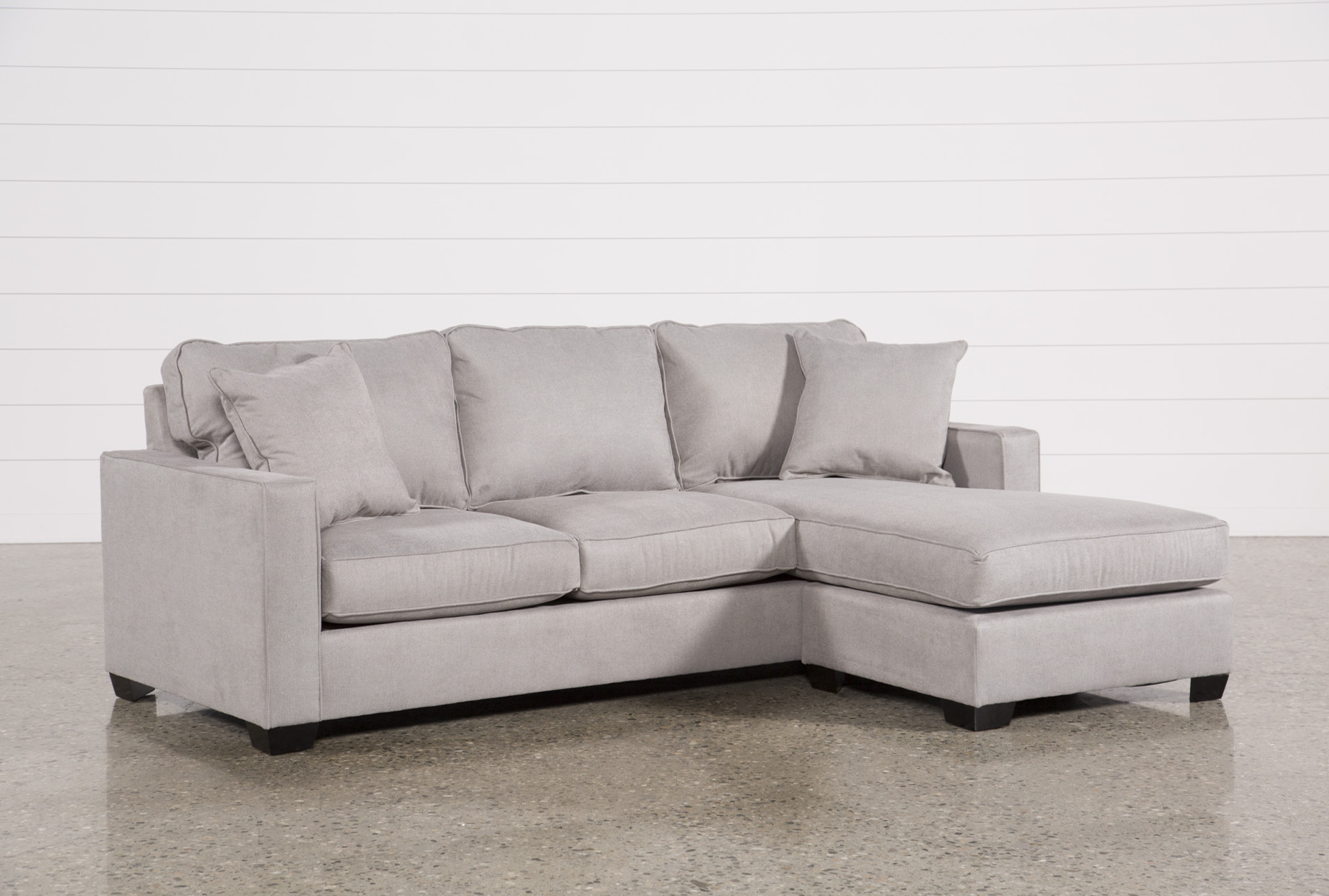 Egan Ii Cement Sofa Sectionals mit Wende-Chaiselongue