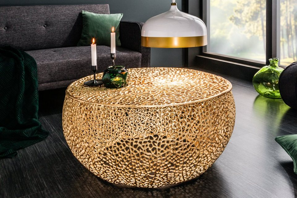 Gold Leaf Collection Couchtische