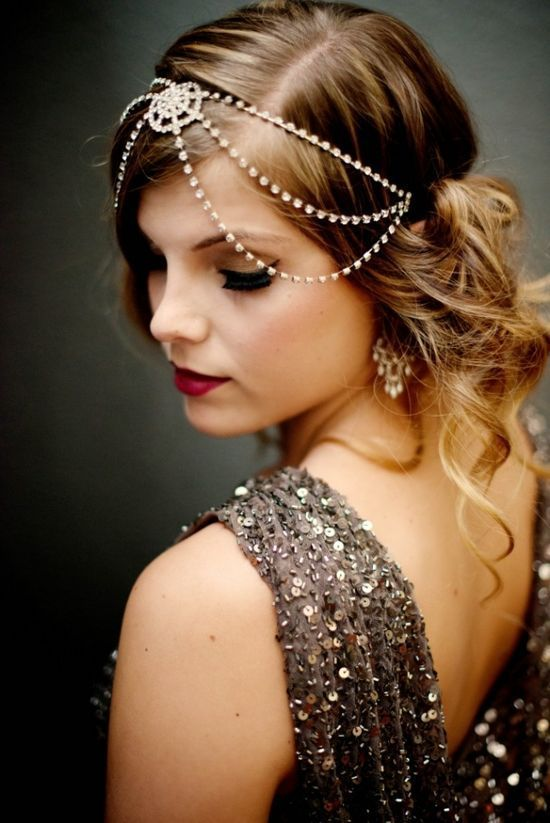 Vintage cooles Haar für Gatsby Party