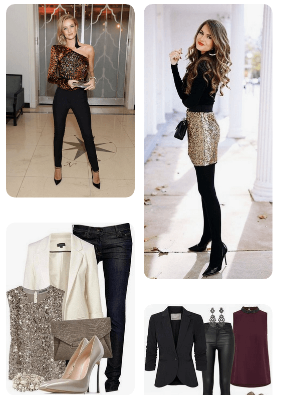 Weihnachtsfeier Outfits